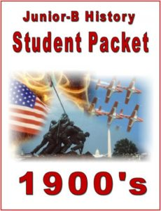 Student Packet cover COLOR--1900s--0507